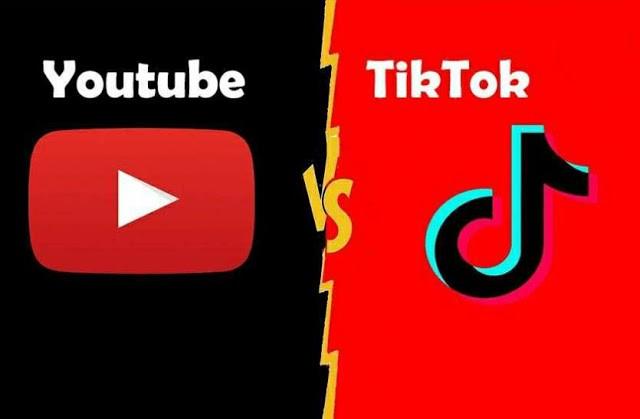 טיקטוק VS יוטיוב